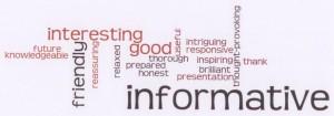 2013 Wikidata Training Thought Cloud